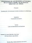 Proyecto: construcción de local para eventos sociales en la URACCAN